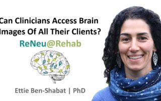 Can rehabilitation clinicians access brain images of all their clients?
